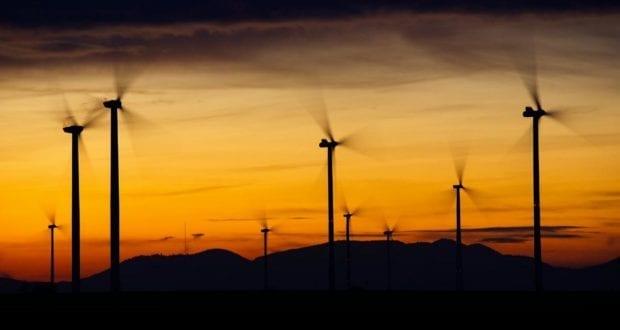 Windkraftrad Windrad