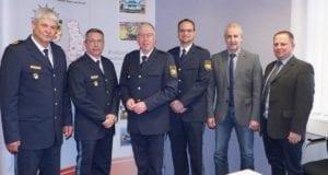 Amtseinfuehrung Andreas Islar Polizei Sonthofen