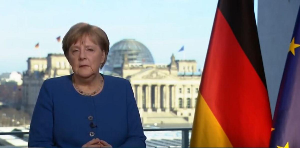 Angela Merkel Ansprache Corona