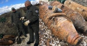 Blindgaenger B10 Neu-Ulm Splitterbomben entschaerft