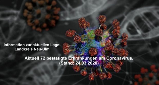 Corona-Kreis-Neu-Ulm Stand – 24032020