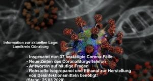 Corona-Lage-Kreis-Guenzburg – Stand 25032020