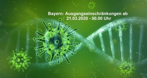 Corona-Virus-Bild Bayern