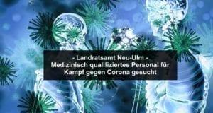 Corona-Virus – medizinisches personal gesucht
