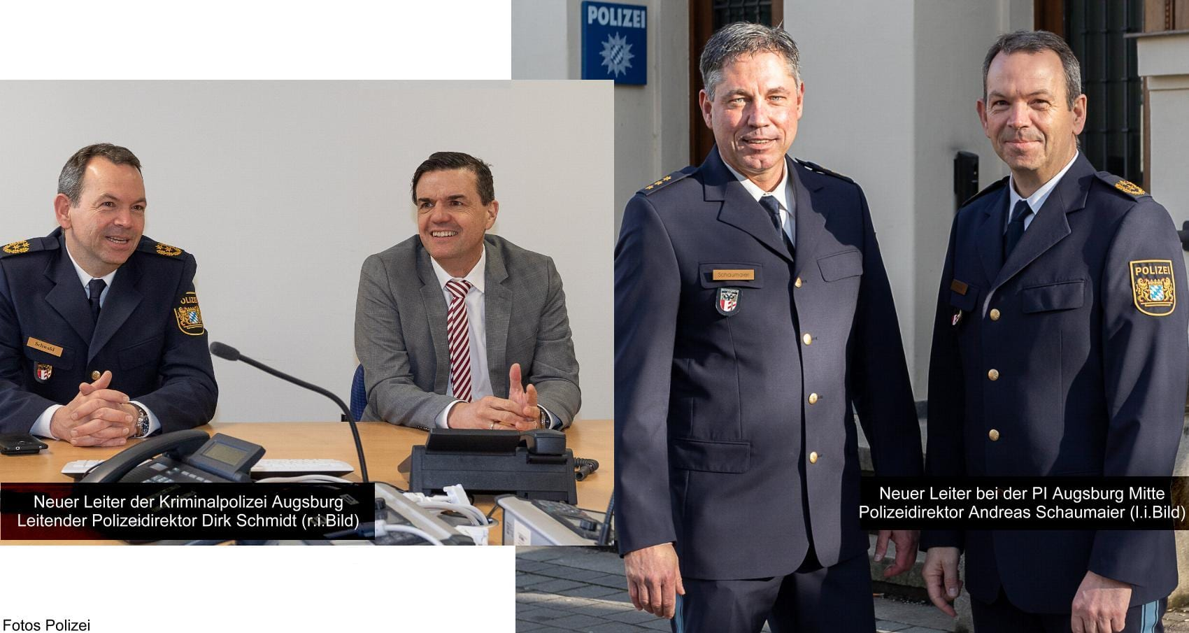 Dienststellenleiter Augsburg PI und KPI