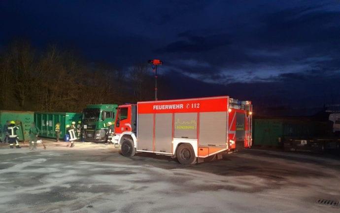 Diesel ausgelaufen Bubesheim Lkw 04032020 3