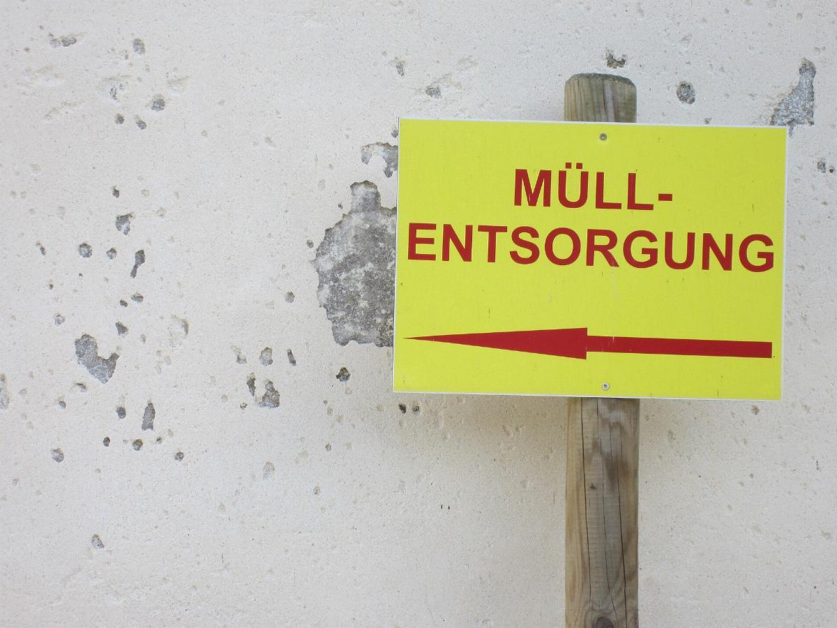 Muellentsorgung Abfall Muell