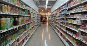 Regal Einkaufen Supermarkt