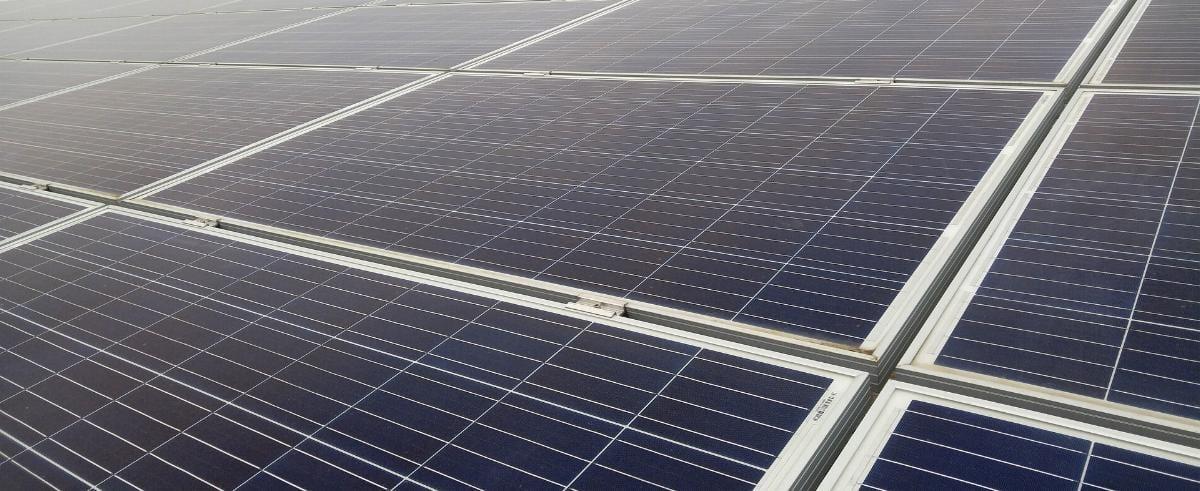 Solarfeld Solarpark Solar