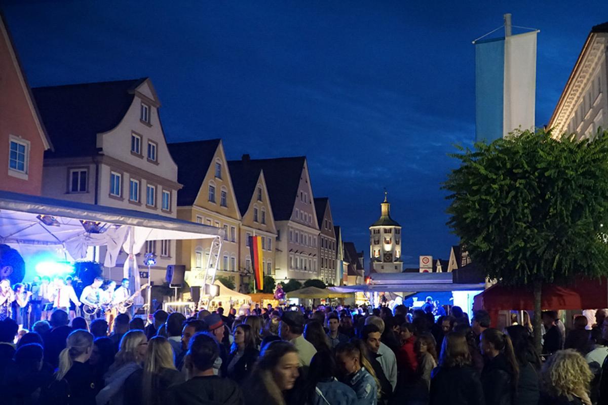 Absagen Veranstaltungen Maimarkt Guntiafest Guenzburg