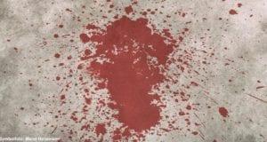 Blutfleck Blut