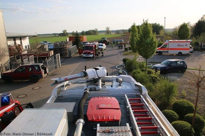Brand Lagerhalle Waldstetten Ichenhausen 24042020 24