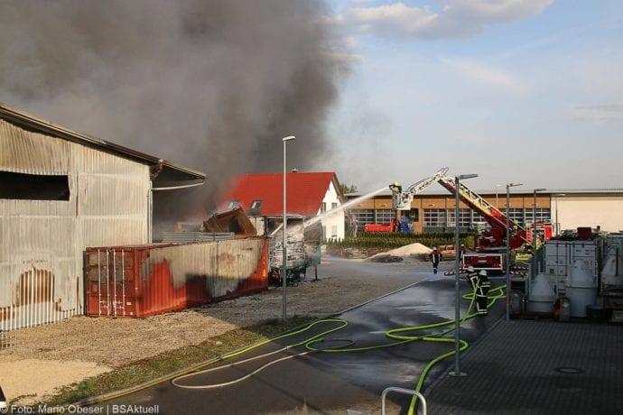 Brand Lagerhalle Waldstetten Ichenhausen 24042020 25