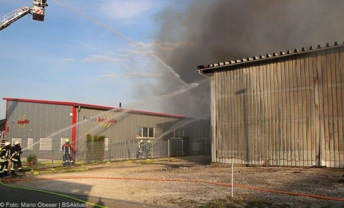 Brand Lagerhalle Waldstetten Ichenhausen 24042020 27