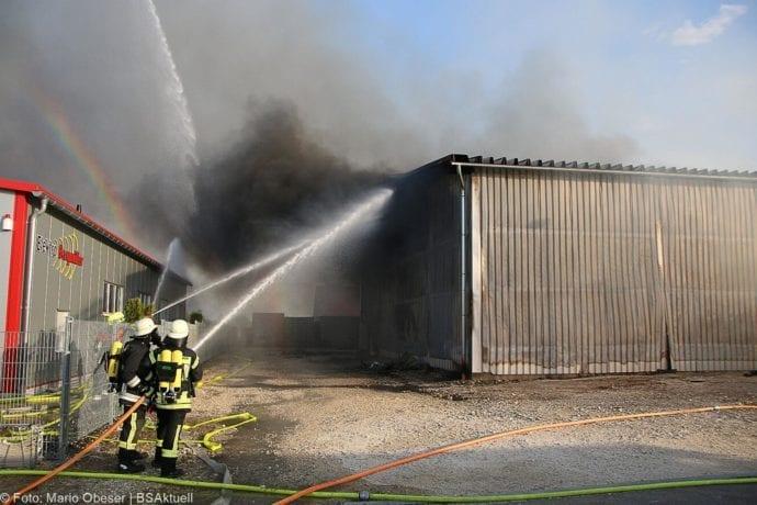 Brand Lagerhalle Waldstetten Ichenhausen 24042020 29