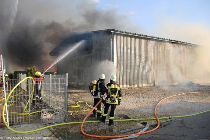 Brand Lagerhalle Waldstetten Ichenhausen 24042020 31