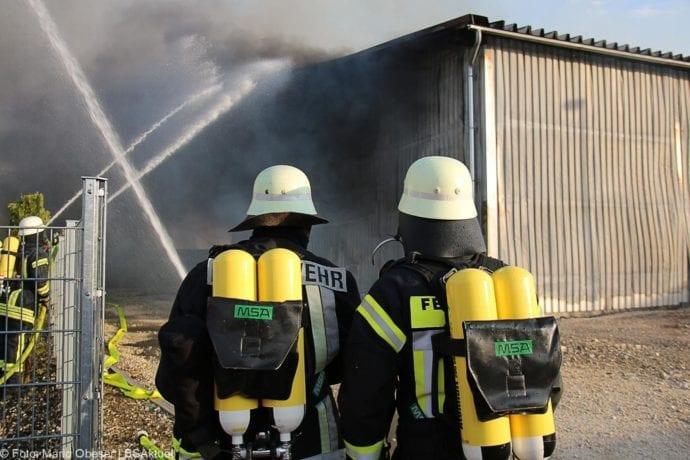 Brand Lagerhalle Waldstetten Ichenhausen 24042020 35