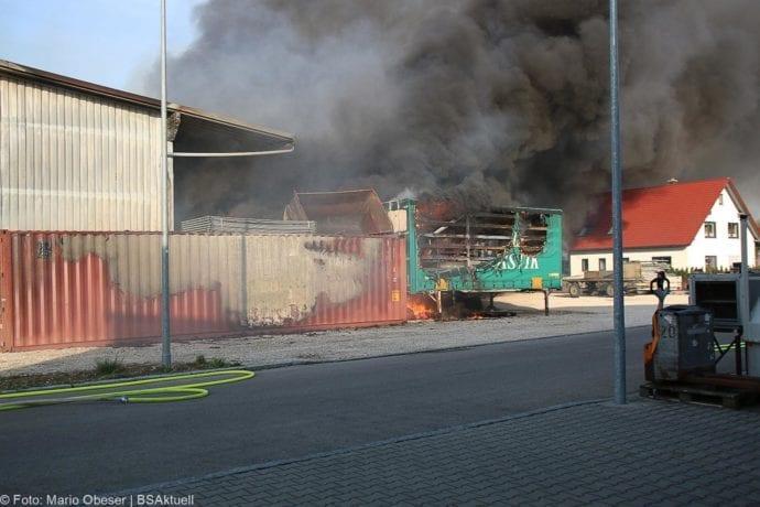Brand Lagerhalle Waldstetten Ichenhausen 24042020 5