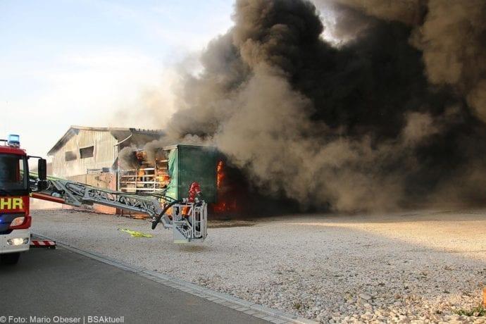 Brand Lagerhalle Waldstetten Ichenhausen 24042020 8