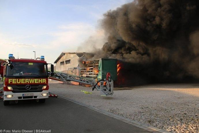Brand Lagerhalle Waldstetten Ichenhausen 24042020 9