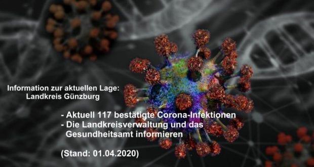 Corona-Lage-Kreis-Guenzburg – Stand 01042020
