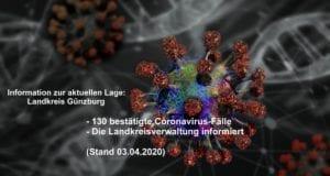 Corona-Lage-Kreis-Guenzburg – Stand 03042020