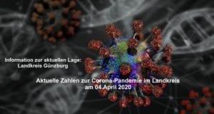 Corona-Lage-Kreis-Guenzburg – Stand 04042020