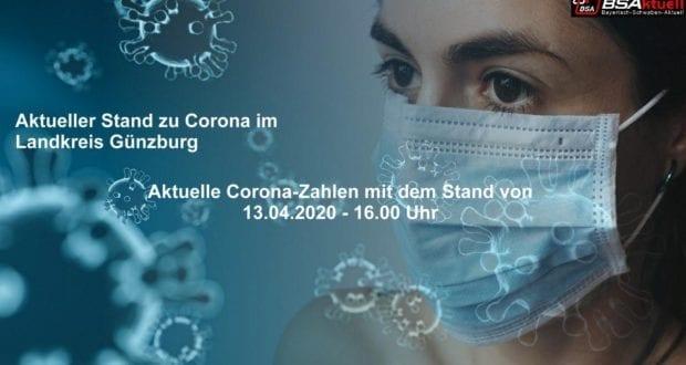 Coronavirus-Mund-Nase-Maske-Kreis-Guenzburg – Stand 13042020