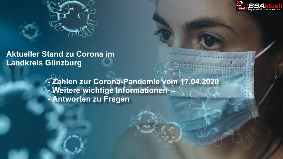 Coronavirus-Mund-Nase-Maske-Kreis-Guenzburg – Stand 17042020