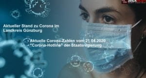 Coronavirus-Mund-Nase-Maske-Kreis-Guenzburg – Stand 21042020