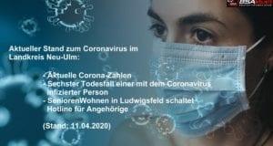 Coronavirus Mund-Nase Maske – Kreis Neu-Ulm – Stad 11042020