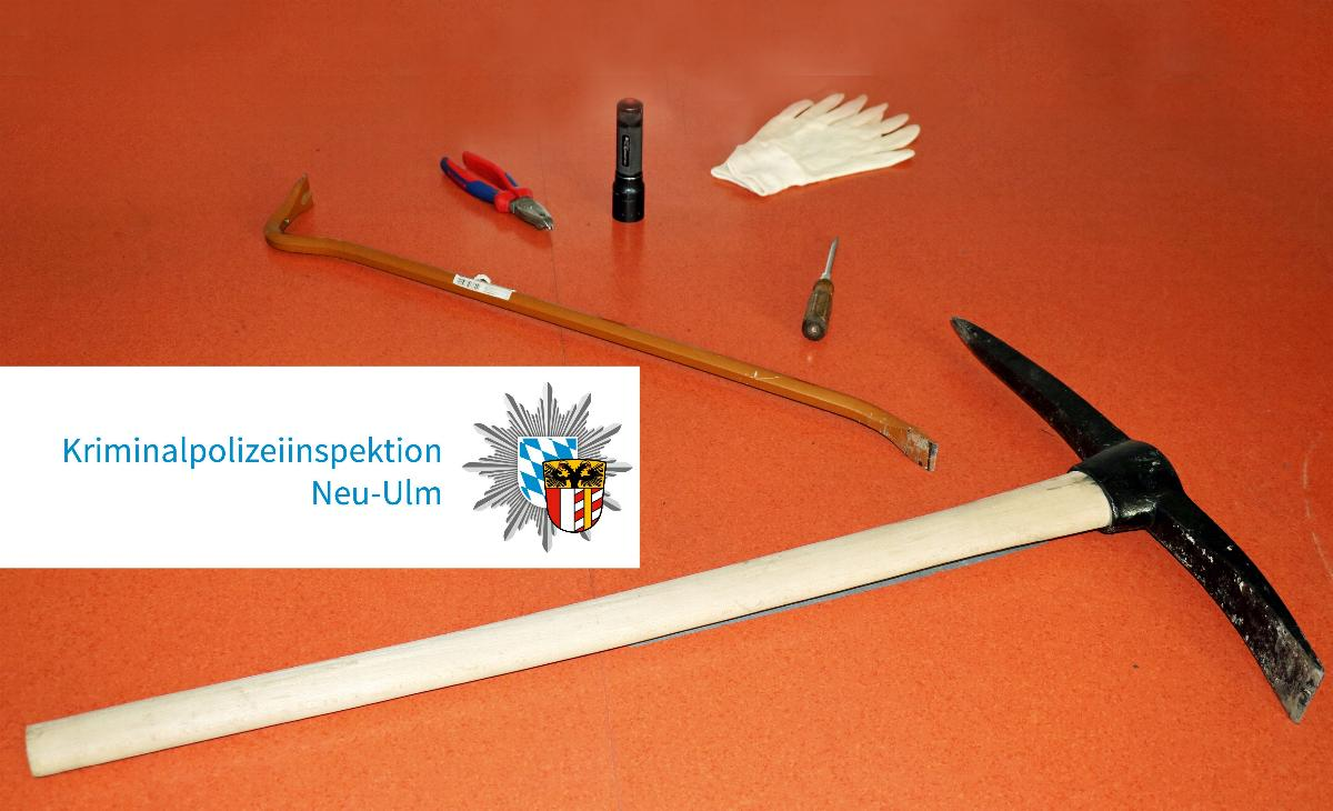 Einbrecher festgenommen Neu-Ulm