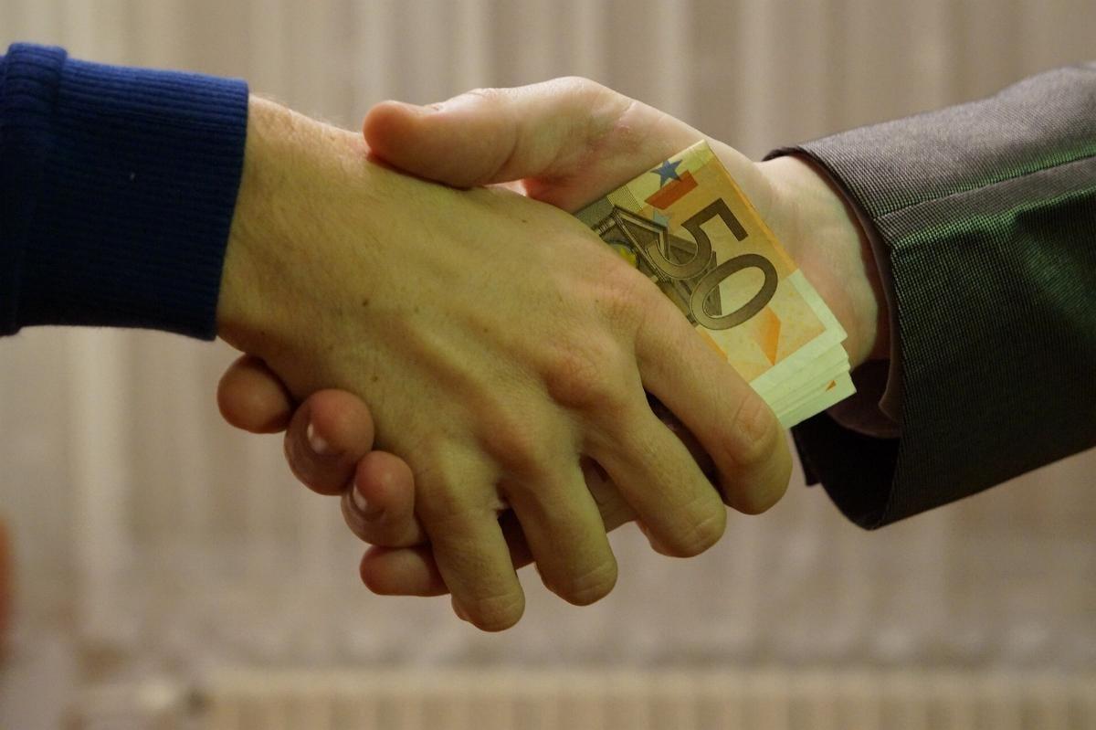 Euro Geld Hand