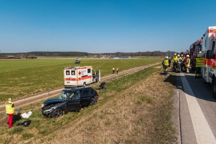 Falschfahrerin A96 Verkehrusnfall 08042020 1