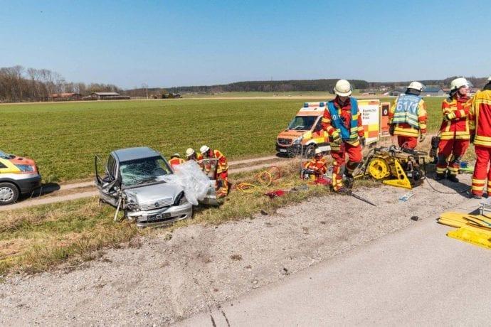 Falschfahrerin A96 Verkehrusnfall 08042020 5