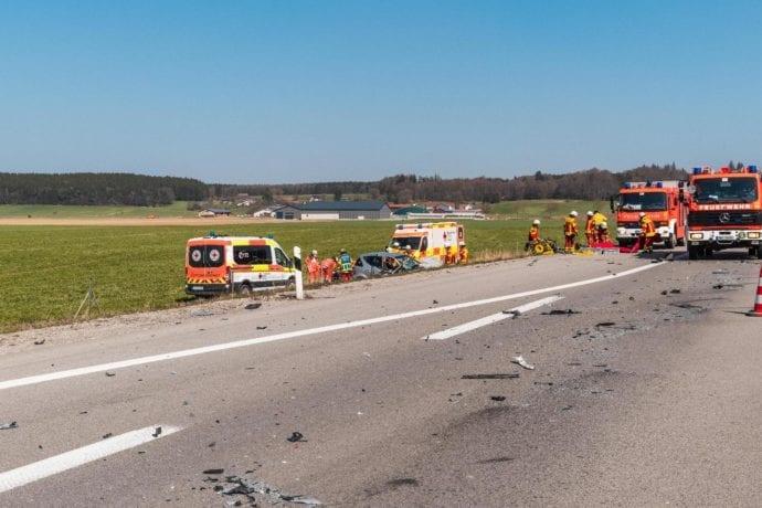 Falschfahrerin A96 Verkehrusnfall 08042020 7
