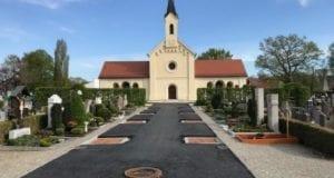 Friedhof Guenzburg Baustellenfortschritt