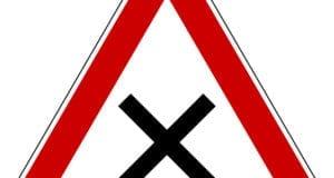Kreuzung Schild
