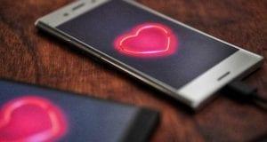 Liebe Herz Handy
