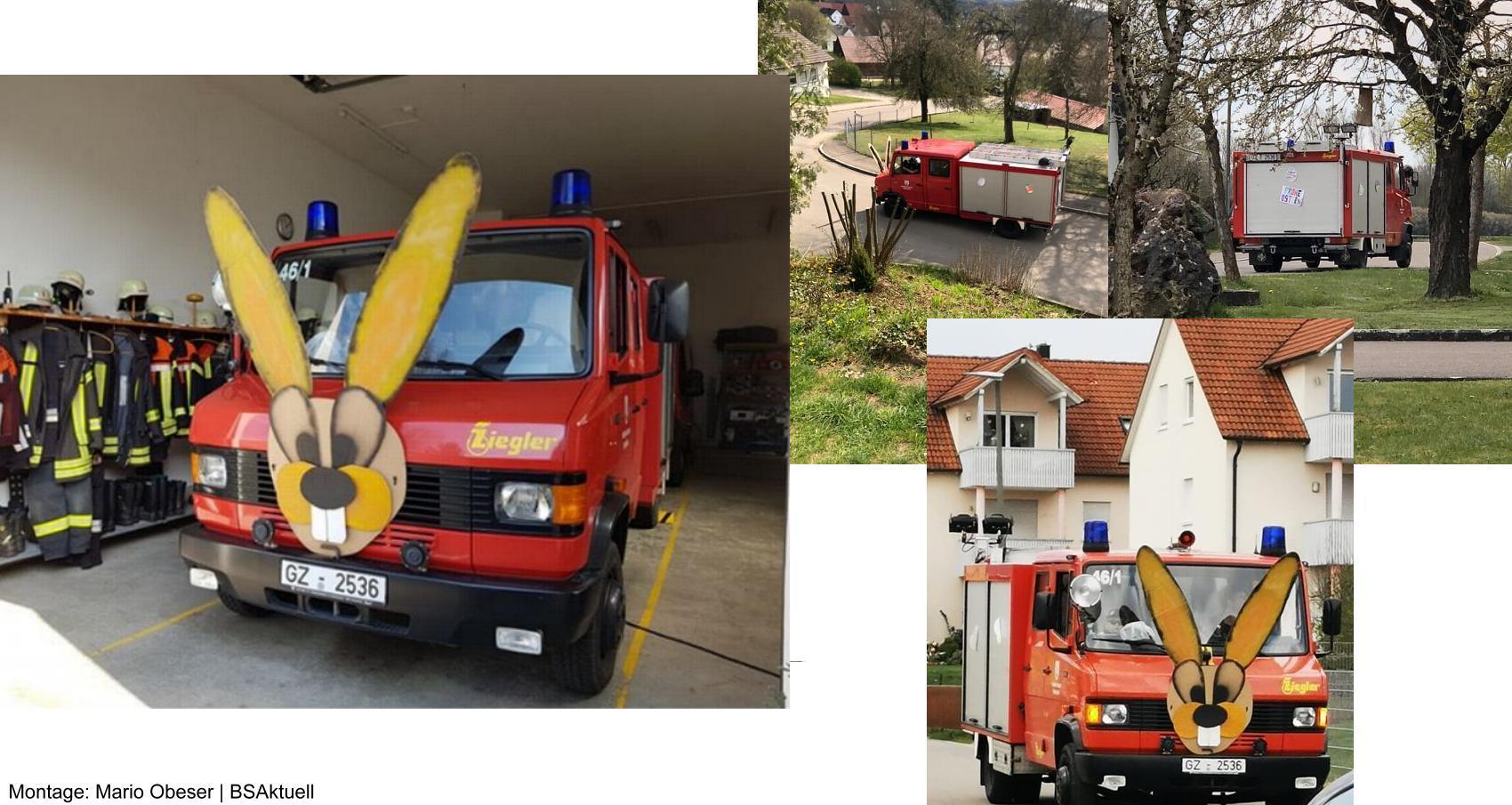 Osterjagt2020 Feuerwehr Mindelaltheim
