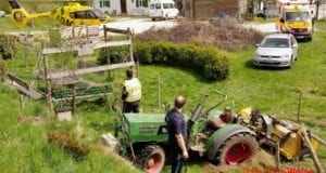 Traktor Unfall Ursberg 20042020 3