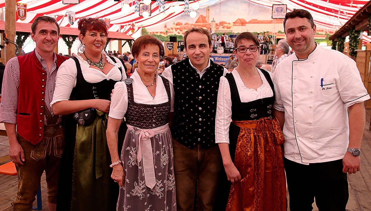 Volksfest Guenzburg Foto Festwirt 2015