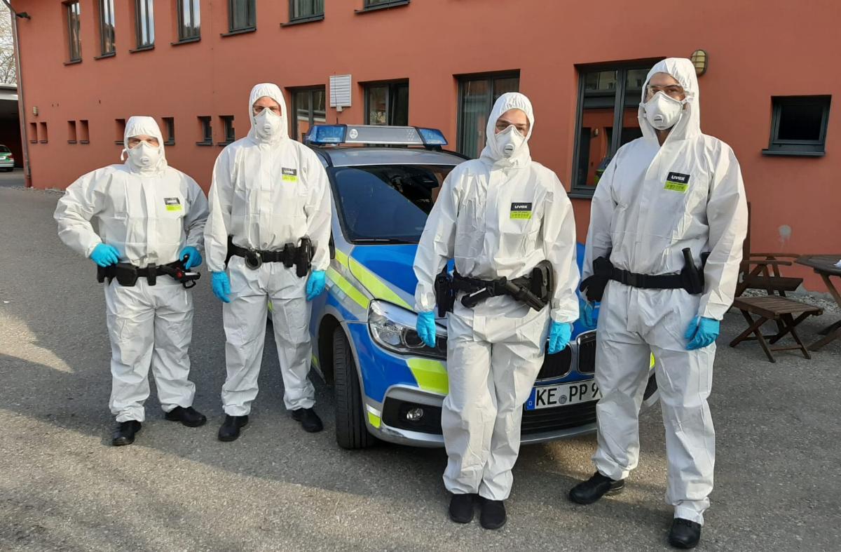 corona-streifenbesatzungen Polizei Immenstadt