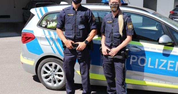 polizei buchloe Masken