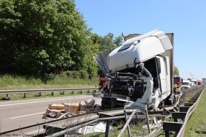 A8 Unfall Ulm-Ost 18052020 18