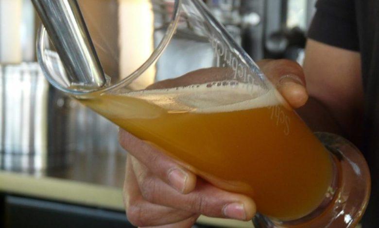 Bier Ausschank