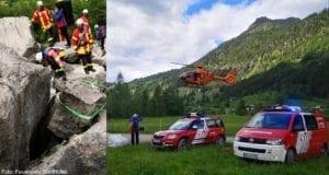Boulderunfall im Hinertsteiner Tal 24052020 (2)