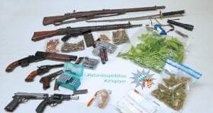 Buchenberg.Waffen Drogen sichergestellt 07052020 4