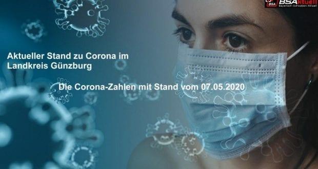 Coronavirus-Mund-Nase-Maske-Kreis-Guenzburg ö- Stand 07052020