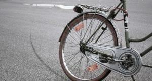 Fahrrad Bremsspur